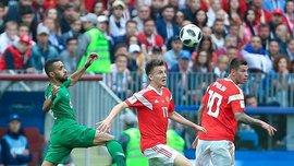 Россия – Саудовская Аравия: пародия на футбол, мировые рекорды и немного красоты в матче ЧМ-2018