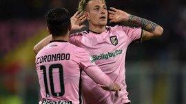 Палермо обыграл Фрозиноне в первом матче финала плей-офф за выход в Серию А