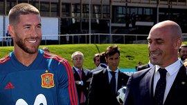 Скандал дня на ЧМ-2018 в Испании: Пике оттягивал Рамоса от Рубиалеса, и твит игрока Барселоны