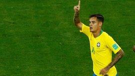 Бразилия – Швейцария: мать Коутиньо заплакала после шикарного гола Филиппе