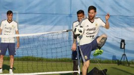 Аргентина – Хорватія: Мессі, Дибала та Ді Марія пропустили частину тренування