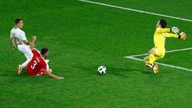 Сербия – Швейцария – 1:2 – видео голов и обзор матча