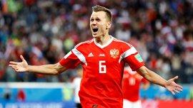 Россия – Египет: Черышев признан лучшим игроком матча