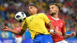 ЧМ-2018: Тиагу Силва будет капитаном Бразилии в матче с Коста-Рикой