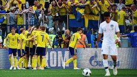 ЧС-2018: Три гравці збірної Швеції отруїлися та пропустили тренування