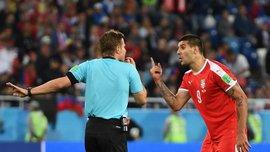 ЧМ-2018: Матич считает судейство Брыха в матче со Швейцарией предвзятым