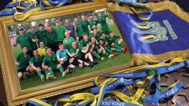 Прикарпатье получило бронзовые награды Второй лиги