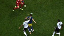 Германия – Швеция: был ли пенальти в моменте с падением Берга?
