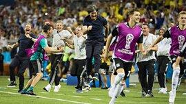 ЧМ-2018: ФИФА начала расследование в отношении сборной Германии из-за празднования победы над Швецией