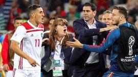 """ЧМ-2018: Марокко едва не выбило Испанию и устроила скандал из-за судейства: """"Это дерьмо!"""""""