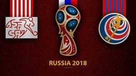 Швейцария – Коста-Рика: прогноз на матч чемпионата мира-2018