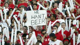 УЕФА разрешил продажу алкоголя на матчах еврокубков
