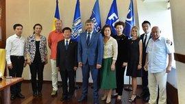 Руководство ФФУ обсудило с представителями китайского университета футбольное сотрудничество