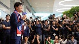 ЧС-2018: збірну Південної Кореї закидали яйцями після повернення додому