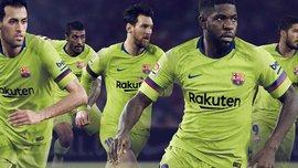 Барселона представила комплект гостевой формы на сезон 2018/19