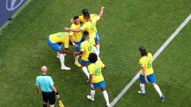 ЧМ-2018: Бразилия стала самой результативной командой в истории Мундиалей