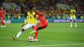 """Колумбия – Англия: британцы не проигрывали """"кафетерос"""" в последних 5 матчах"""