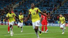 Колумбия – Англия: Ерри Мина стал самым результативным защитником чемпионатов мира