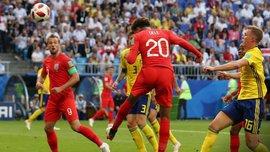 Швеция – Англия: Алли стал вторым самым молодым игроком в истории британцев, забившим гол на чемпионате мира