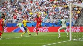 ЧМ-2018: Швеция впервые пропустила два гола после ударов головой в одном матче Мундиаля