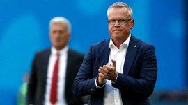 Швеция – Англия: послематчевая пресс-конференция Янне Андерссона
