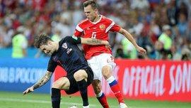 Россия – Хорватия: Черышев догнал Роналду и Лукаку в гонке бомбардиров ЧМ-2018