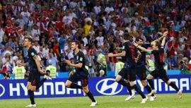 ЧМ-2018: Хорватия повторила рекорд Аргентины по выигранным сериями пенальти
