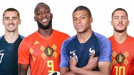 Франция – Бельгия: анонс матча 1/2 финала ЧМ-2018