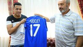 Динамо объявило о подписании Сидклея