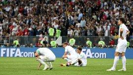 Хорватия – Англия: британцы второй раз в истории проиграли в полуфинале чемпионата мира