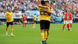 Бельгия – Англия – 2:0 – видео голов и обзор матча