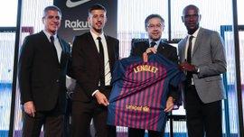 Барселона представила новичка Лангле