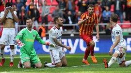 Кравец забил гол пяткой в матче Кайсериспора