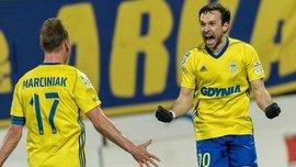 Богданов забил эффектный гол со штрафного и отметился автоголом в матче Суперкубка Польши
