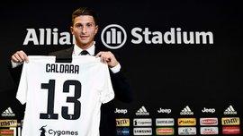 Кальдара представлен в качестве игрока Ювентуса