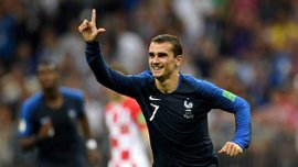 Франция – Хорватия: Гризманн – лучший игрок матча