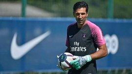 Буффон дебютировал за ПСЖ, пропустив 2 гола от команды из третьего дивизиона