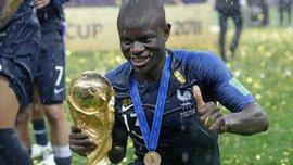 ЧС-2018: гравці збірної Франції заспівали на честь Канте