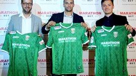 Карпаты подписали контракт с Marathonbet