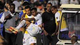 45-мільйонний новачок Реала Родріго покинув поле на руках лікаря після брутального фолу Феліпе Мело