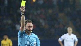 Украинские арбитры будут обслуживать матчи Лиги Европы