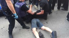 Шахтер – Динамо: в сети появилось видео массовой драки болельщиков