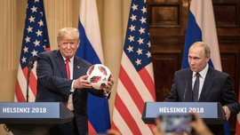 """Adidas пояснив, який """"жучок"""" для Трампа був у м'ячі Путіна"""