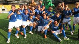 Италия U-19 победила французов и вышла в финал Евро-2018