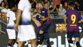 Артур відзначився красивим дебютним голом за Барселону