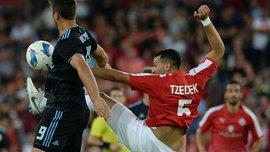 Лига чемпионов: Легия с двумя удалениями не смогла дожать Спартак Трнаву, Динамо Загреб и Шкендия проходят дальше