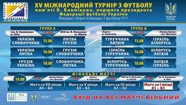 Меморіал Віктора Баннікова: учасники та розклад матчів