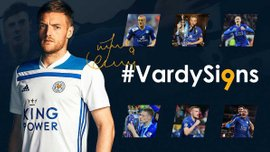 Варди подписал новый контракт с Лестером