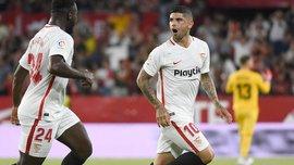 Лига Европы: Севилья минимально переиграла Жальгирис, Легия сенсационно дома уступила Дюделанжу