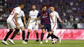 Барселона– Севилья– 2:1– видео голов и обзор матча